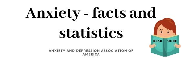 Facts and statistics about anxiety