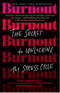 Burnout book by Emily Nagoski